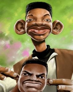 The Fresh Prince of Bel-Air Will Smith & Carlton Banks