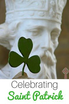 Need some easy ideas to celebrate Saint Patrick on his feast day? We've gathered printables, books, activities, recipes, movies and more. #StPatrick #SaintPatrick #Catholic Catholic Books, Catholic Kids, Catholic Saints, Catholic Homeschooling, Homeschooling Resources, St Brigid, Catholic Pictures, St Patrick's Day Crafts, Happy St Patricks Day