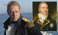 The inspiration for Captain Jack 'Lucky' Aubrey, played by Russell Crowe in the 2003 film Master And Commander: The Far Side Of The World has always been a mystery - until now. Patrick O'brian, Master And Commander, David Tennant Doctor Who, Russell Crowe, O Brian, Get Educated, Rory Williams, Donna Noble, Love Film