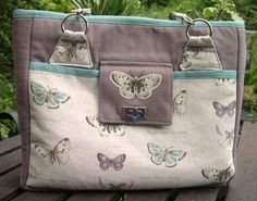 The Spottier Stow It All Bag with a Hidden Extra! - sew-whats-new.com