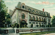 Mansions of the Gilded Age: Belcourt Castle, Newport, RI. For Sale & Stories about it being Haunted