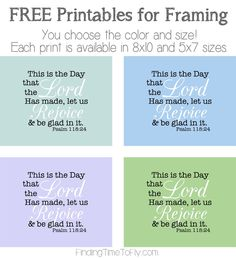 This Is The Day Free Printable Bible Verse Parenting Plan, Parenting Hacks, Chill Quotes, Rejoice And Be Glad, Printable Bible Verses, Christian Inspiration, Word Of God, Woman Quotes, Christian Quotes