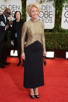 Emma-Thompson Golden Globes 2014