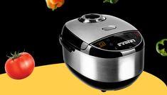 Мультиварка – главный помощник на кухне. Это многофункциональный прибор, которые позволяет готовить огромное количество разнообразных блюд. Rice Cooker, Kitchen Appliances, Diy Kitchen Appliances, Home Appliances, Kitchen Gadgets