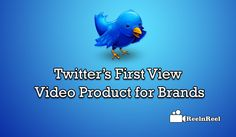 Twitter's First View Video Product for Brands Twitter Video, Twitter S, Seo News, View Video, Marketing And Advertising, Platform, Branding, Wedge, Brand Identity