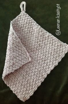 Crocheted dishclothes by LeenaH