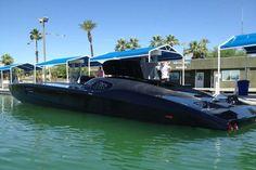 ★ Visit ~ MACHINE Shop Café ★ (2012 Mti Custom Cigarette Style Boat Styled After Corvette ZR1 @ $1.7 Million)