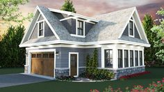 Carriage House Plan with Man Cave Potential - 14653RK | Carriage, 2nd Floor Master Suite, CAD Available, PDF | Architectural Designs