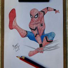 Spiderman - Homecoming by Mariana May Cry