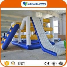 Inflatable Zone TM inflatable water slide,Inflatable water park equipment inflatable big Elephant nose water slide
