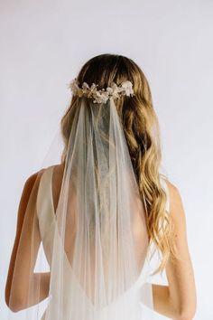 Bride Hairstyles For Long Hair, Romantic Hairstyles, Hairstyles With Bangs, Bohemian Wedding Hair, Wedding Updo, Celebrity Wedding Dresses, Celebrity Weddings, Fairy Hair, Evening Dresses For Weddings