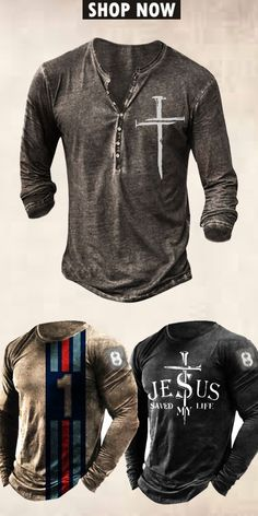 Up to 45% off! Men fashion long-sleeve T-shirt and accessories holiday sale for discount, free shipping on order $59. Shop now! #sale #men #outfits #accessories #shoes #shirt #tee #fall #winter #hoodie #tactical Hoodies, Sweatshirts, Motorcycle Jacket, Long Sleeve Shirts, Shop Now, Men Shirts, Mens Fashion, Tees, Sweaters