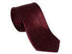 Adessi Luxury Geometric Maroon & Blue silk tie