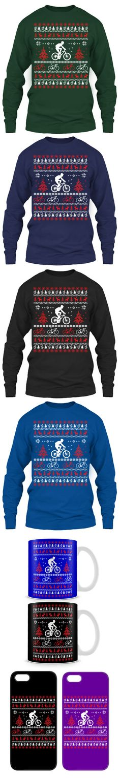 Perfect Gift For Christmas! Cycling Ugly Christmas Sweater. Click The Image To Buy It Now or Tag Someone You Want To Buy This For.