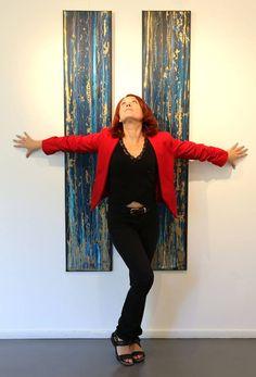 Art In Var | Aurélie Magnoni: la peinture humaine Artists, Paint
