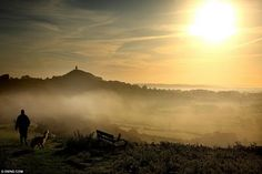 Glastonbury Tor. Slowly as the veil thins, new found 'magic' of this place will be uncovered…..