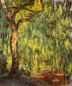 Weeping Willow by Monet