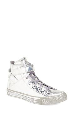 Converse Chuck Taylor® All Star® 'Brea - Metallic' High Top Sneaker (Women) available at #Nordstrom