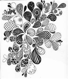 zentangle inspired art (could use this idea to create a pattern with stones in a patio/walkway) Doodles Zentangles, Zentangle Drawings, Zentangle Patterns, Art Drawings, Kunst Portfolio, Sketchbook Cover, Sketchbook Inspiration, Sketchbook Ideas, Sharpie Art