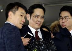 South Korean special prosecutor's office is considering whether to seek an arrest warrant for Samsung Group leader Jay Y. Lee amid a probe into an influence-peddling scandal involving President Park Geun-hye, Yonhap News Agency reported on Friday. Tech News Today, Political Scandals, Corporate Strategy, Rich Family, International News, South Korea, Lima, Korea, Musik