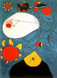 Joan Miro Most Famous Painting | Joan Miro - Portrait IV 1938