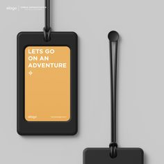 elago Luggage Tags - Black. Name Badges, Design Seeds, Keep It Simple, Id Tag, Consumer Products, Card Holder, Branding, Tags, Prague