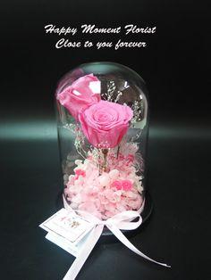Preserved Flower by HappyMomentFlorist on Etsy