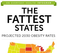 Will your state be one of the most obese in 2030? Click to find out!