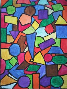 geometric art art projects in 2018 pinterest math art lessons