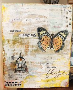 THIS?   is gorgeous. love the key as the body of the butterfly!