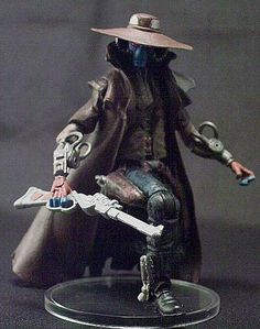 I wasn't too pleased with the version of Cad Bane that Hasbro put out, so I made some improvements. First, I gave him articulated k. Star Wars Crafts, Star Wars Toys, Star Wars Art, Star Wars Rebels, Ahsoka Tano, Cad Bane, Star Troopers, Star Wars Jewelry, Movie Decor