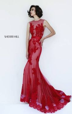 Check out this new arrival in our store from Sherri Hill. Love this #promdress from #alexandrasboutique