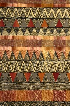 Photo for Zig Zag Natural African Quilts, African Textiles, African Fabric, Textures Patterns, Fabric Patterns, Print Patterns, Tribal Print Pattern, Tribal Patterns, Tribal Prints