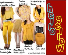 """""""Hellow Yellow!"""" by floriestyle on Polyvore"""