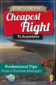 Are you looking for a way to save a lot of money everytime you book a Here you can findn extremely simple step-by-step guide that helps you to easily find the cheapest flight available and explains how to book the cheapest flight to anywhere. Budget Flights, Find Cheap Flights, Flights Online, Cheapest Airline Tickets, Cheap Flight Tickets, Travel Advice, Travel Tips, Travel Destinations, Exercises