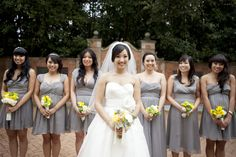 gray base for wedding colors?