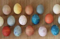 All natural Easter Egg dye (fruits and veggies)