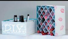 #DIY ,#Makeup, #rangement