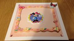 Minnie Mouse card