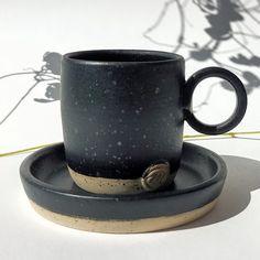 Stoneware,handmade & unique Espresso Cups, Stoneware, Ceramics, Mugs, Unique Jewelry, Tableware, Handmade Gifts, Etsy, Vintage