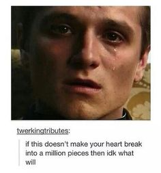 it did and it make my soul and my heart and my feelings shatter into a billion pieces.