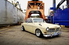 1965 Volvo 122s by Andrew Hastings... I drive a Volvo now. Volvos are cool now.