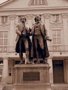 Weimar, Germany. Goethe, Bach, Wagner jt