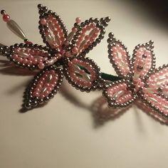 Tapamoños sencillo y sutil #gris #rosado #tembleques #panama