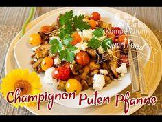 Die Champignon-Puten-Pfanne ist ein tolles Low Carb Rezept, das in jeder Low Carb Ernährung passt. Kohlenyhdratarm und schnell zubereitet.