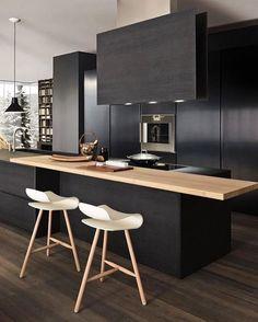 いいね!5,983件、コメント44件 ― Scandinavian Homewaresさん(@istome_store)のInstagramアカウント: 「A stunning black kitchen designed by Italian company Modulnova  . #kitchen #kitchendesign…」