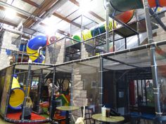 Playdate PDX is one of the coolest places in Portland to take your kids. Why? Because it is terrific for kids and grownups. For kids there is a massive indoor play place that will keep them busy for hours. It's actually three stories high. They can slide, climb, and crawl around... #portland
