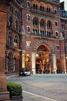 The Gilbert Scott, St. Pancras, London. Many critics think St. Pancras Station is a Victorian monstrosity. I think it's bloody brilliant.