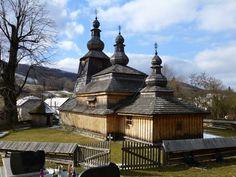 Miroľa wooden church, Prešov region, Slovakia · «