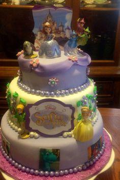 sofia the first cupcake cake | Sofia the first cake